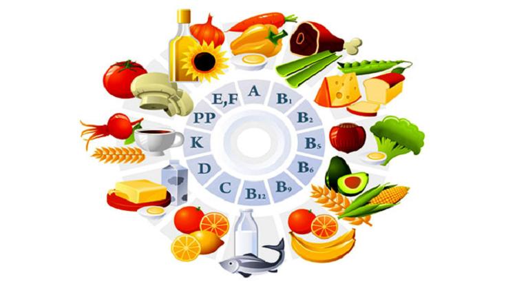Продукты питания содержат все витамины для похудения