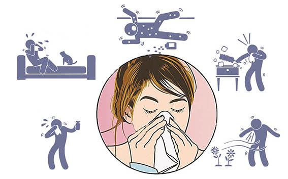 Эпидемия аллергии охватила большинство стран мира
